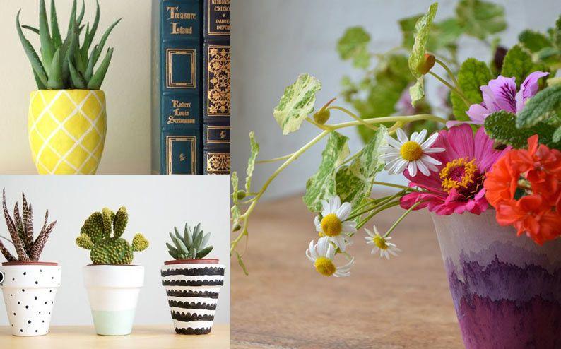 Decorazione Vasi Da Giardino : Idee per decorare i vasi da giardino giardini pinterest vasi