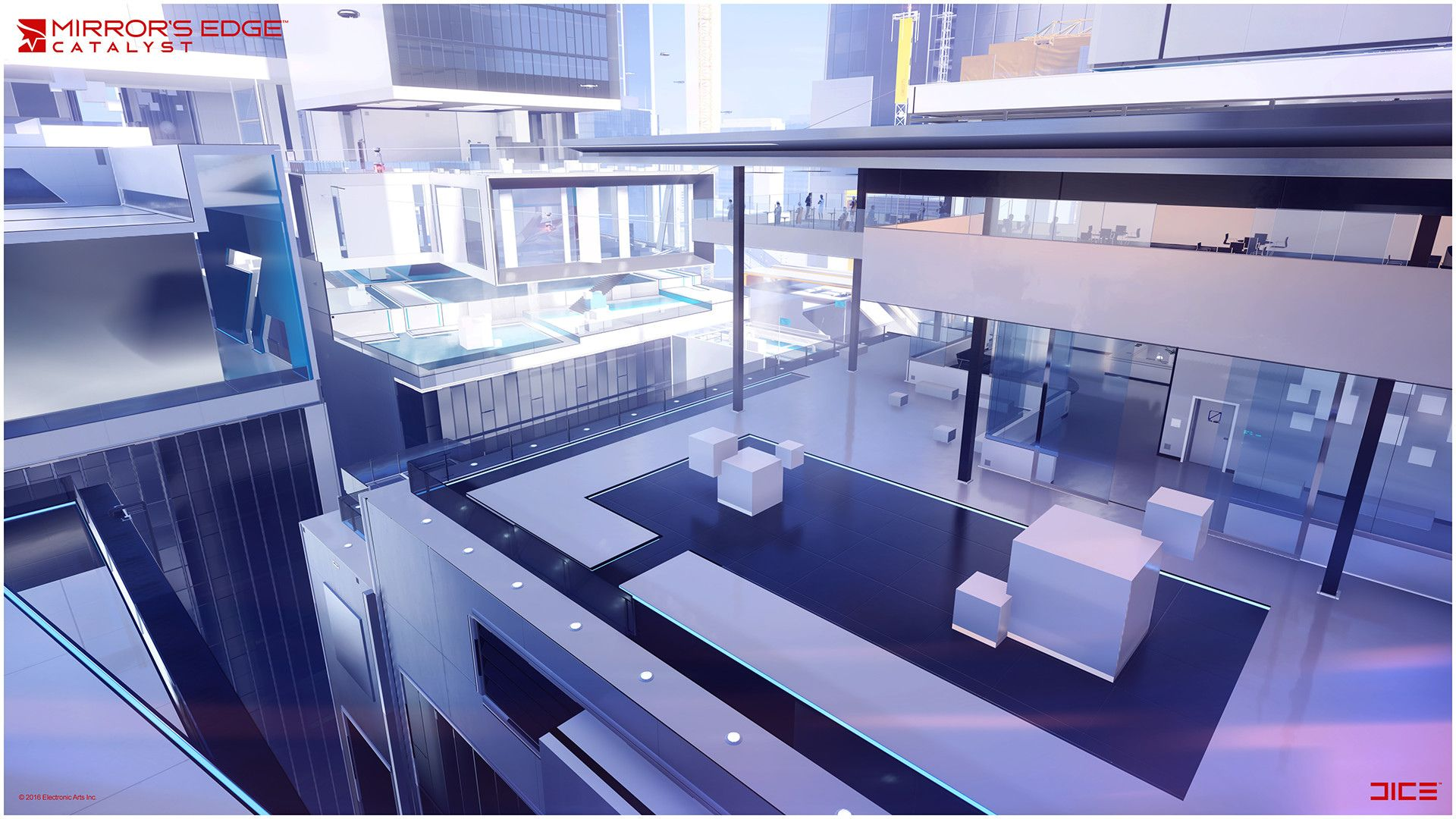 Video Game Mirror S Edge Catalyst Wallpaper With Images
