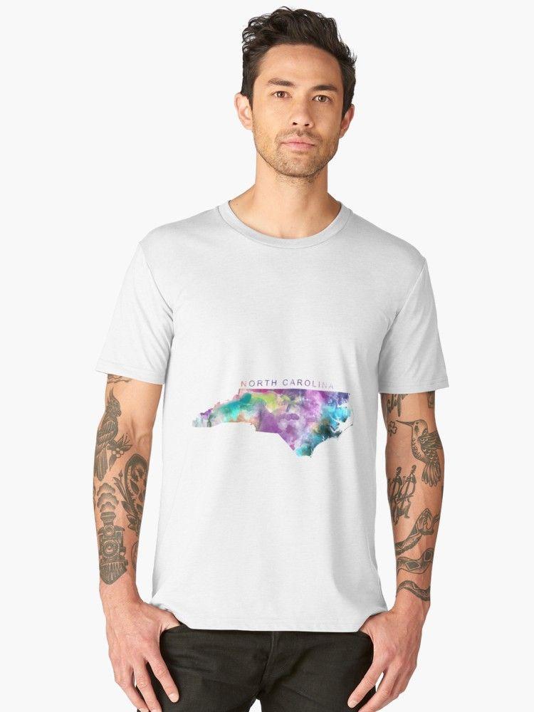 Usa Map North Carolina%0A North Carolina  northcarolina  unitedstates  usa  map  art  print  men