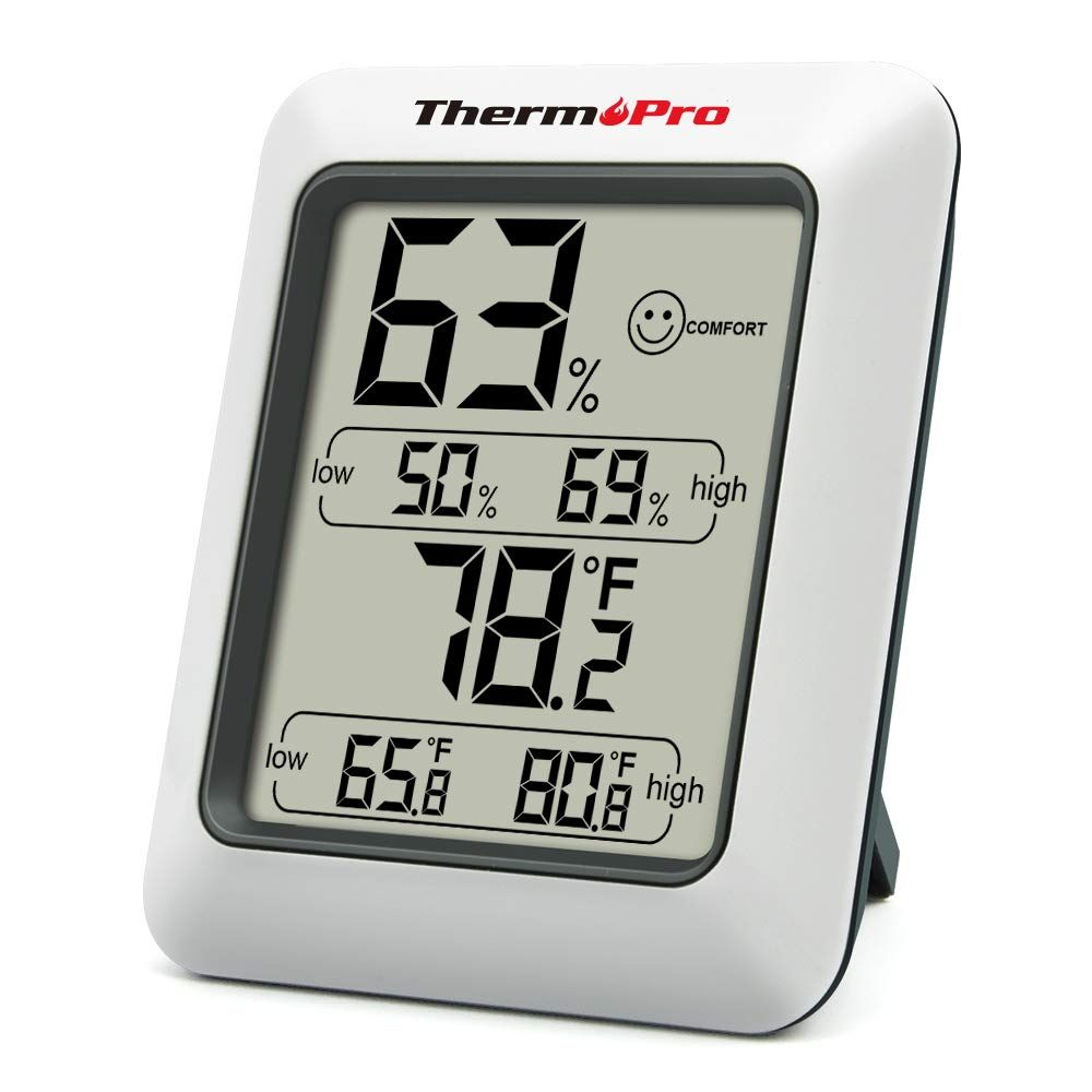 Thermopro Tp50 Digital Hygrometer Indoor Thermometer Room
