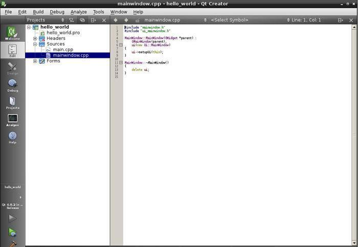 Hello World Program using Qt in Raspberry Pi | Raspberry Pi