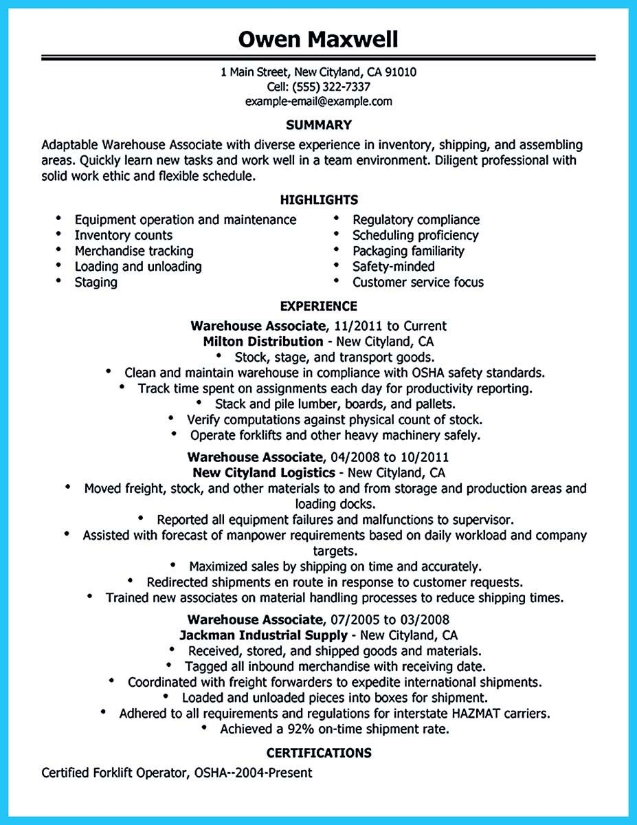 Awesome Professional Assembly Line Worker Resume To Make You Stand Out Check More At Http Snefci Org Professional Assembly Line Worker Resume To Make You Sta