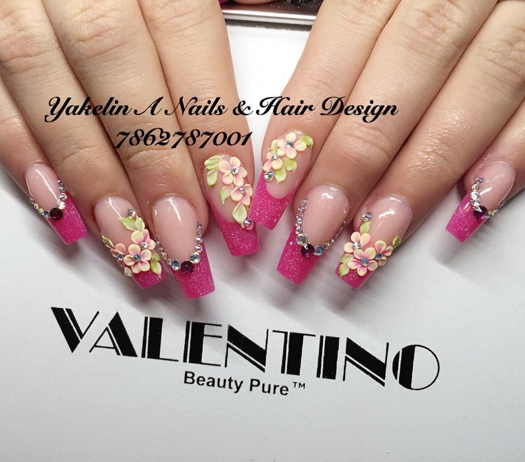 Yakelin Acosta (@yakelinacosta) | Nail Art | Pinterest | Ballerina ...