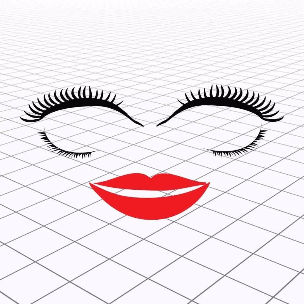 Vw Eyelashes Vw Beetle Eyelashes And Lips Volkswagen Eyelashes