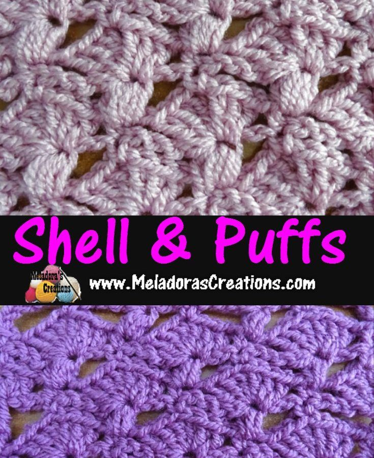 Meladoras Creations | Scarves Archive | Crochet stitches | Pinterest ...