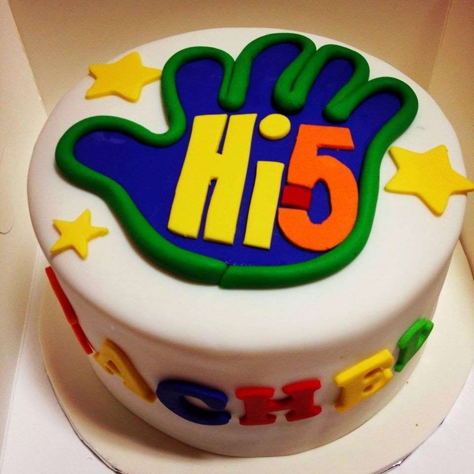 Cake Ideas With Images Fifth Birthday Cake 5th Birthday Cake