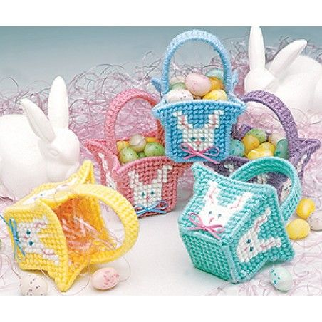 Easy to knit free easter basket knitting pattern plastic canvas easy to knit free easter basket knitting pattern negle Gallery