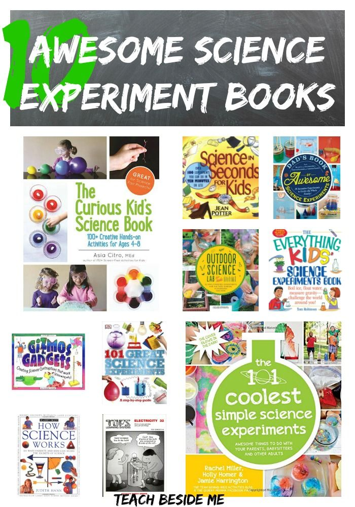 Best Science Experiment Books - Teach Beside Me