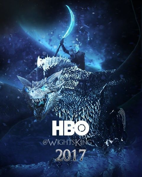 Fan Made Poster For Game Of Thrones Season 7