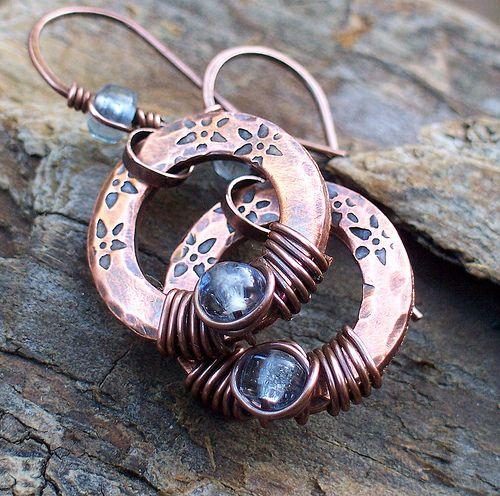 periwinkle birds nest earrings 011   Flickr - Photo Sharing!