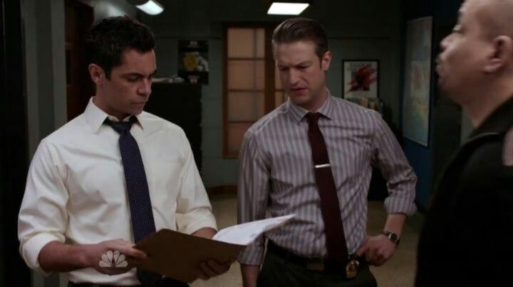 Danny, Ice-T and Peter Scanavino in  - law and order svu presumed guilty