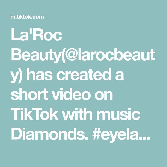 La Roc Beauty Larocbeauty Has Created A Short Video On Tiktok With Music Diamonds Eyelashextensions Eyelashe Call Me Shinra Kusakabe Darling In The Franxx
