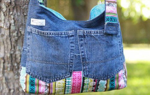 Les meilleures astuces de recycler vos vieux jeans #vieuxjeans