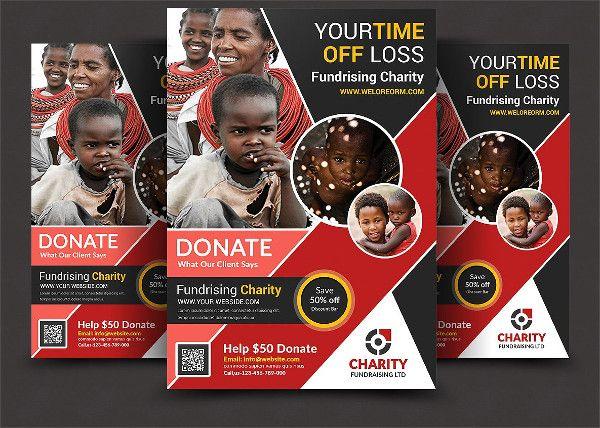 Latest Charity Organization Flyer Template Charity Flyers - donation flyer template