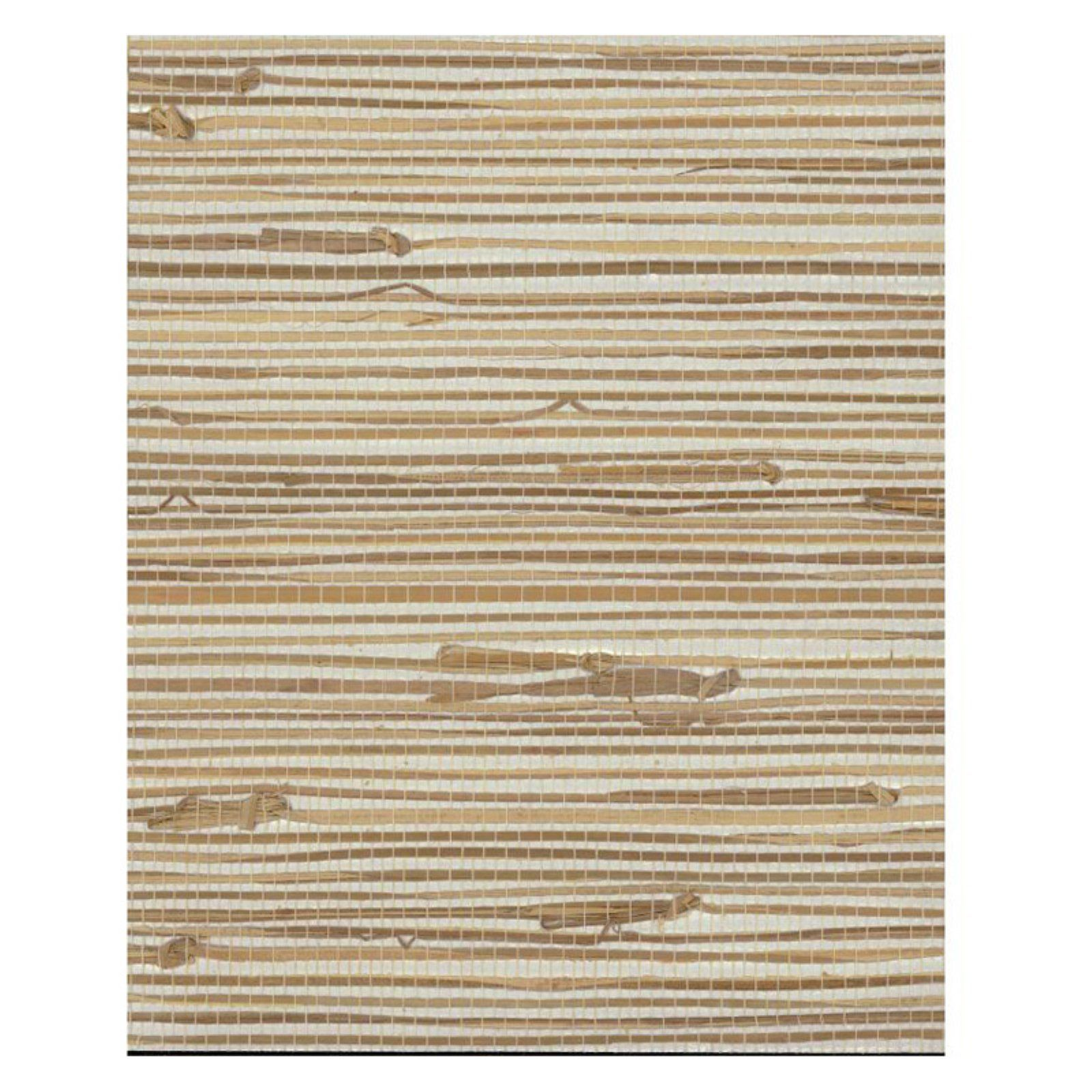 York Wallcoverings Grasscloth Wide Knotted Grass Wallpaper