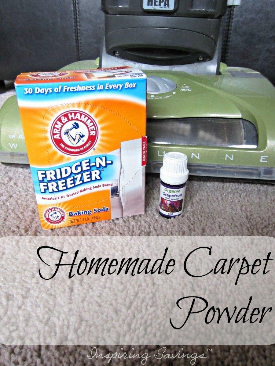 Diy homemade carpet powder 2 ingredients made with