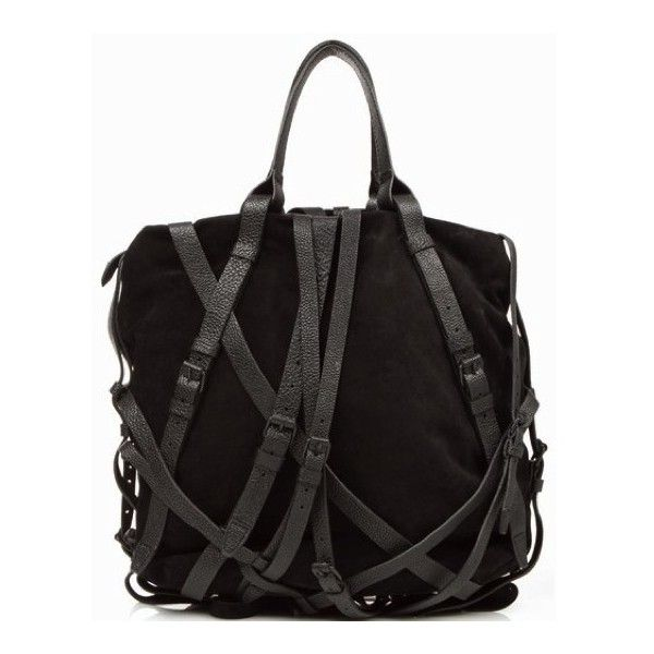 Alexander Wang Kirsten Tote - Black - 203112S11 found on Polyvore