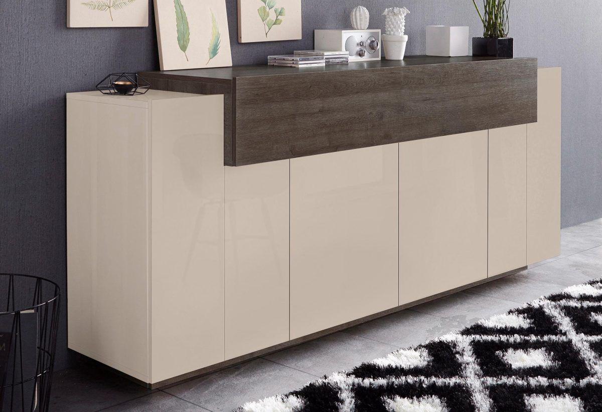 Highboard Wohnzimmer ~ Tecnos sideboard beige »asia« fsc® zertifiziert jetzt bestellen