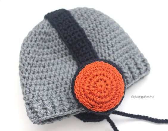 Crochet Headphones Hat | Pinterest | Häkeln
