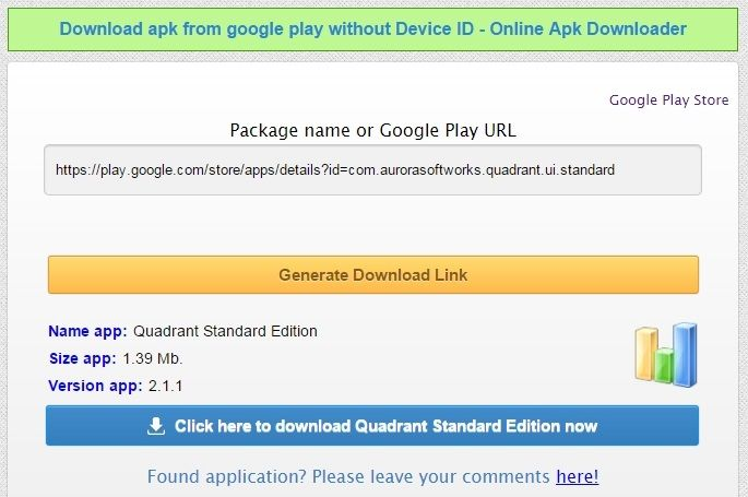 HOW TO: Download apps from Google Play directly to your PC