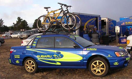 Subaru Baja Club Todocamino Rally Car Goals Custom