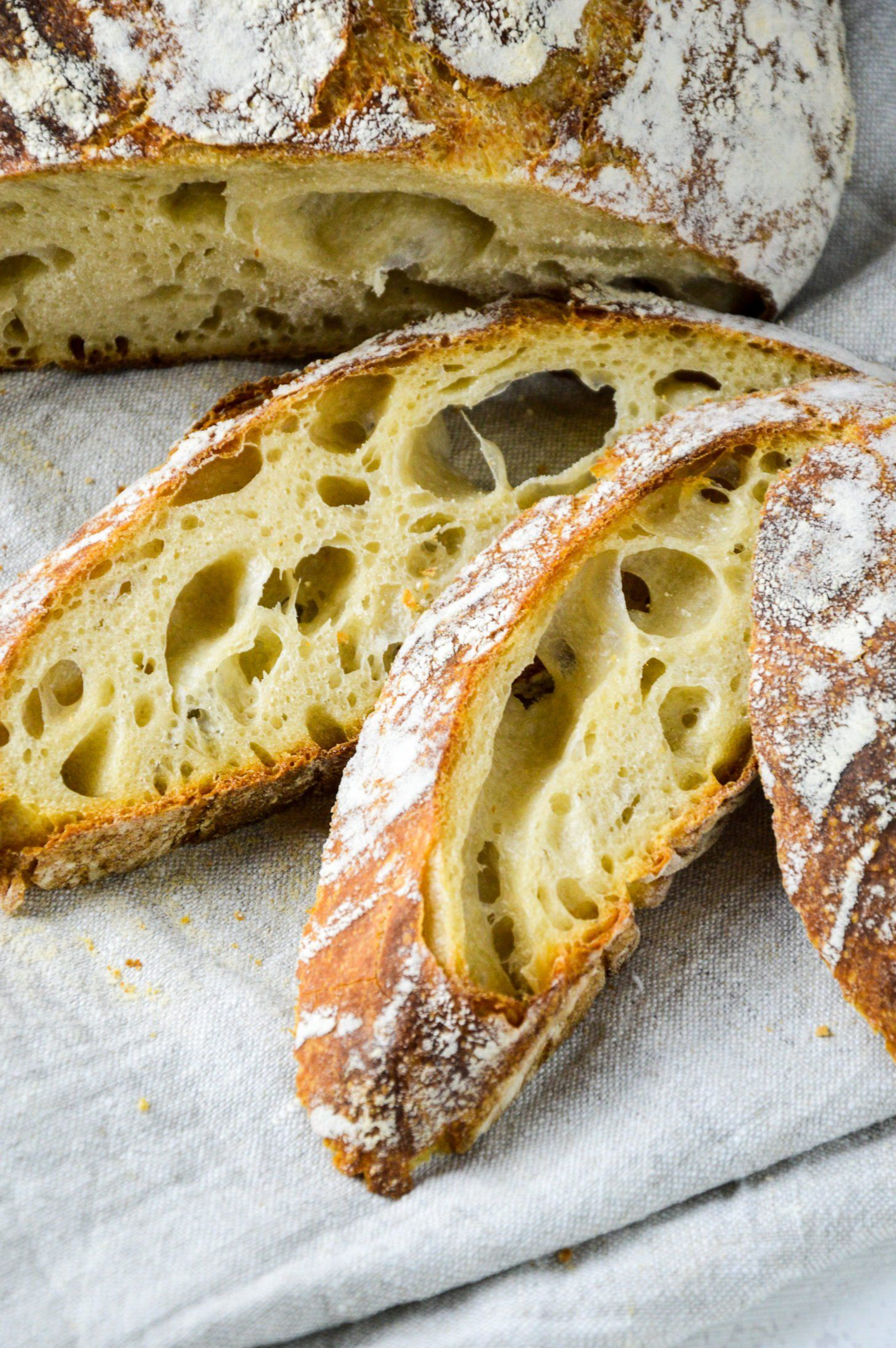 Photo of Pure spelled sourdough bread without yeast Baking makes you happy