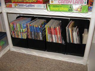DIY Scrapbook Paper Storage Boxes