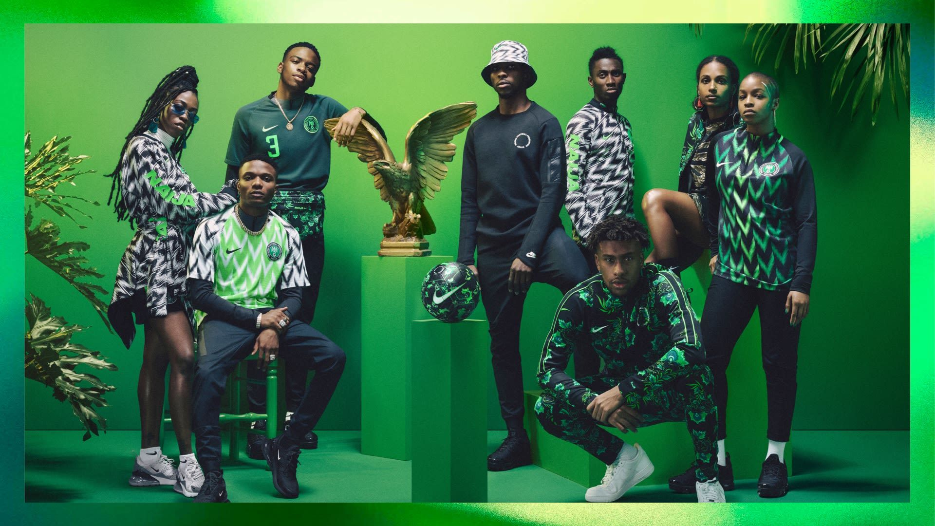 afe968872f9 NAIJA Nigeria World Cup Nike Kits Jerseys Collection Matthew Wolff Design  2018 Super Eagles