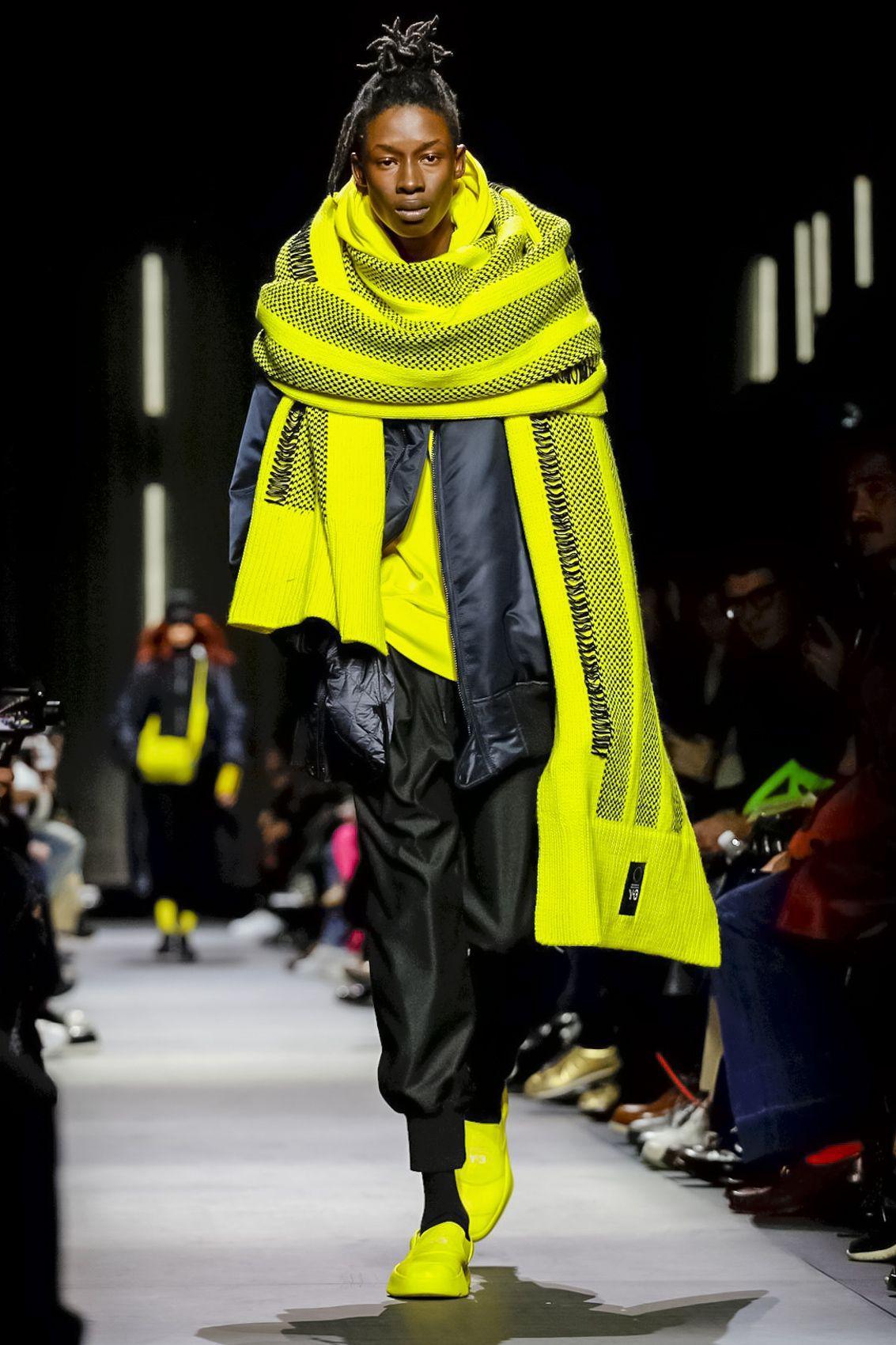 a674918317840 Y-3 Menswear Fall Winter 2018 Paris  Y3  PFW  parisfashionweek  menswear   runway  fashion