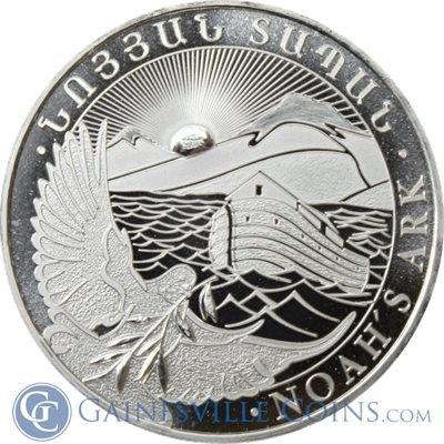 2013 1 Oz Silver Armenia Noah S Ark Coin 500 Drams Http Www Gainesvillecoins Com Silver Bullion Buy Silver Bullion Coins