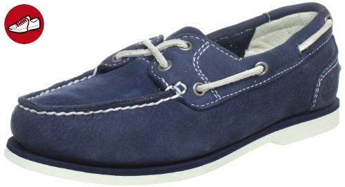 Timberland Ek Classic 3937R, Damen Bootsschuhe, Blau (Navy), 35,5