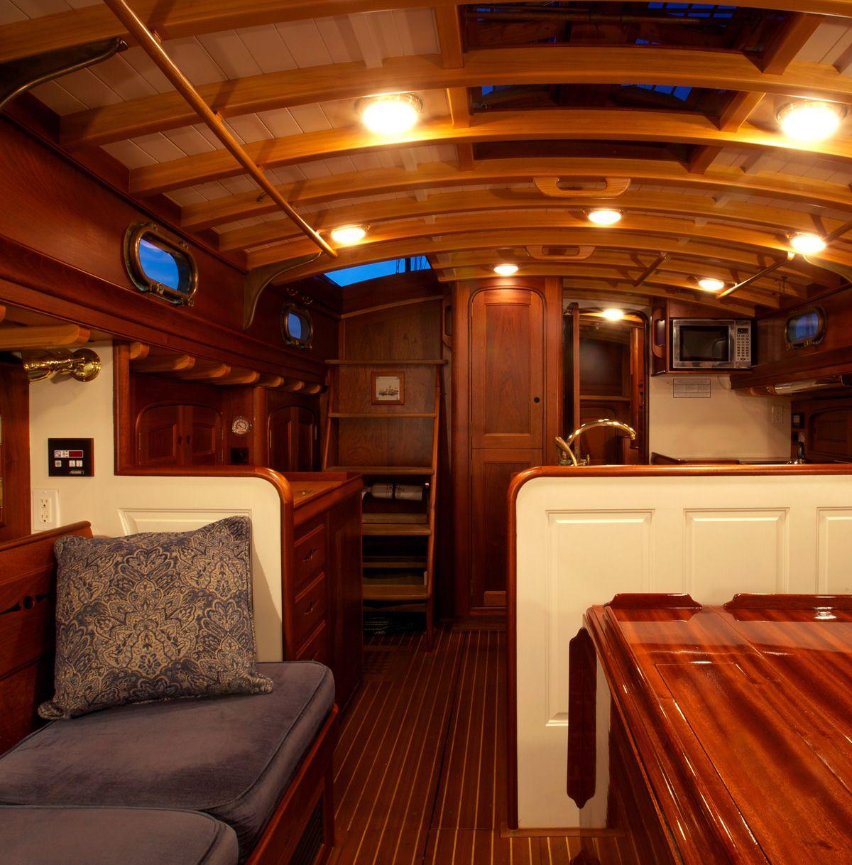 Marjorie Stephens Waring Yacht Design Ah Ap Tekne Imalat Pinterest Boating Wooden