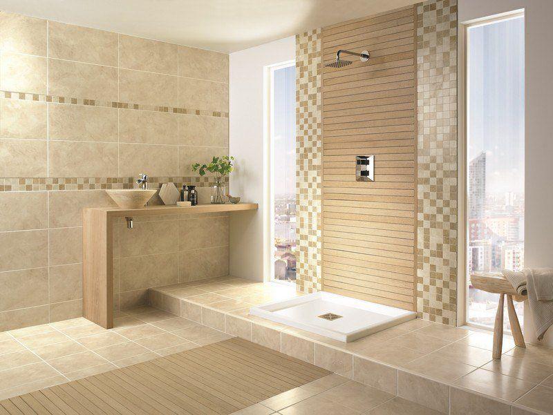 Image salle de bain -lu0027ambiance naturelle su0027invite dans la salle - faience ardoise salle de bain