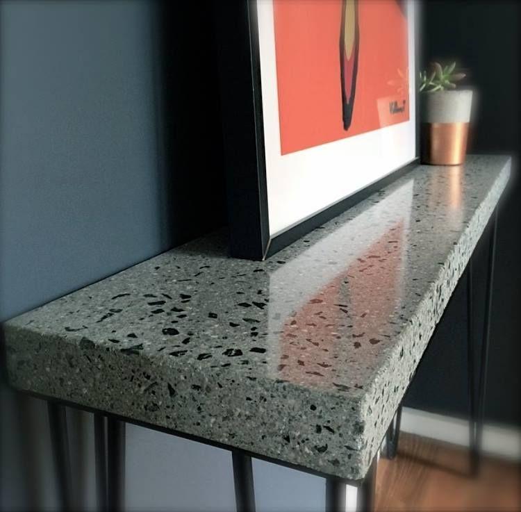 Float design concrete countertops polished concrete