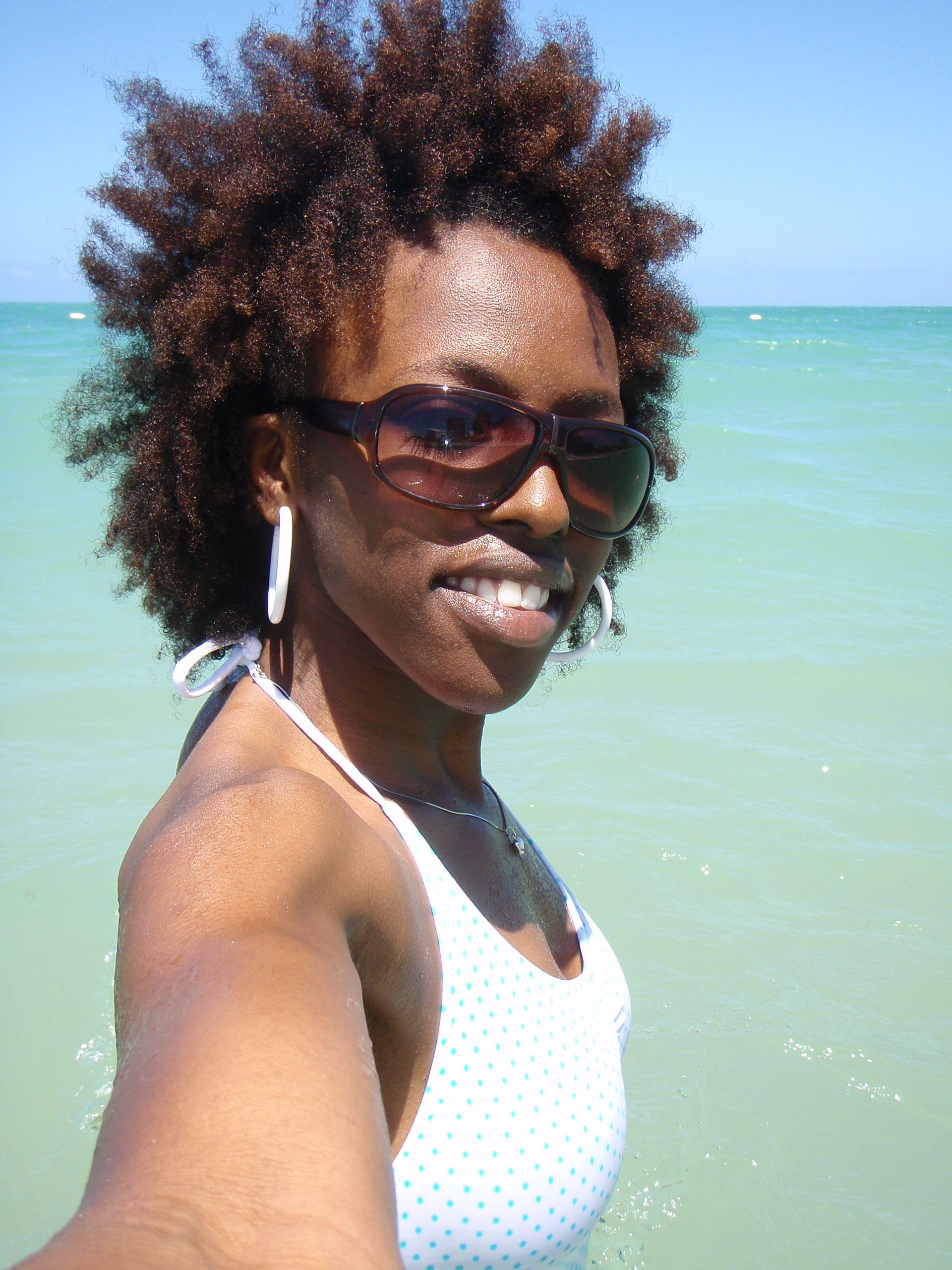 Natural Hair Beach Hair Don T Care Black Women Hairstyles Natural Hair Styles Beach Hair