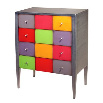 Fabriekmeubels.nl heeft een exclusieve lijn #meubels ontwikkeld die je #interieur helemaal opvrolijken met #felle #kleuren!
