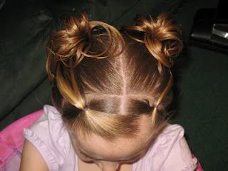 Closer View Of My Princess Hairstyle The Mohican Buns Inspiration By Jill