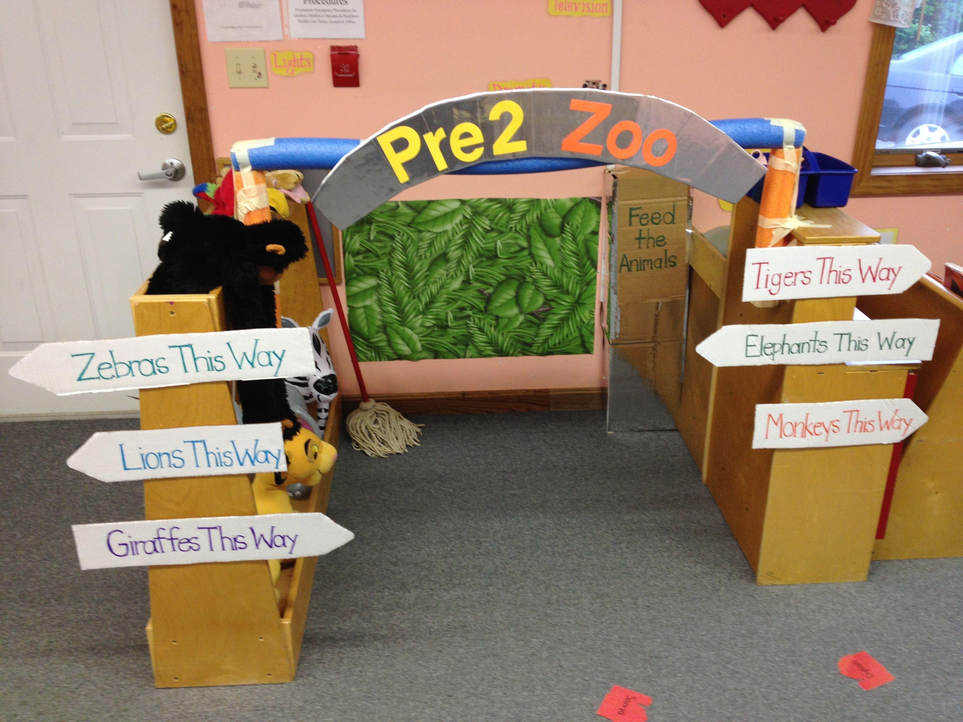 Zoo animal scrapbook ideas - Dramatic Play Ideas