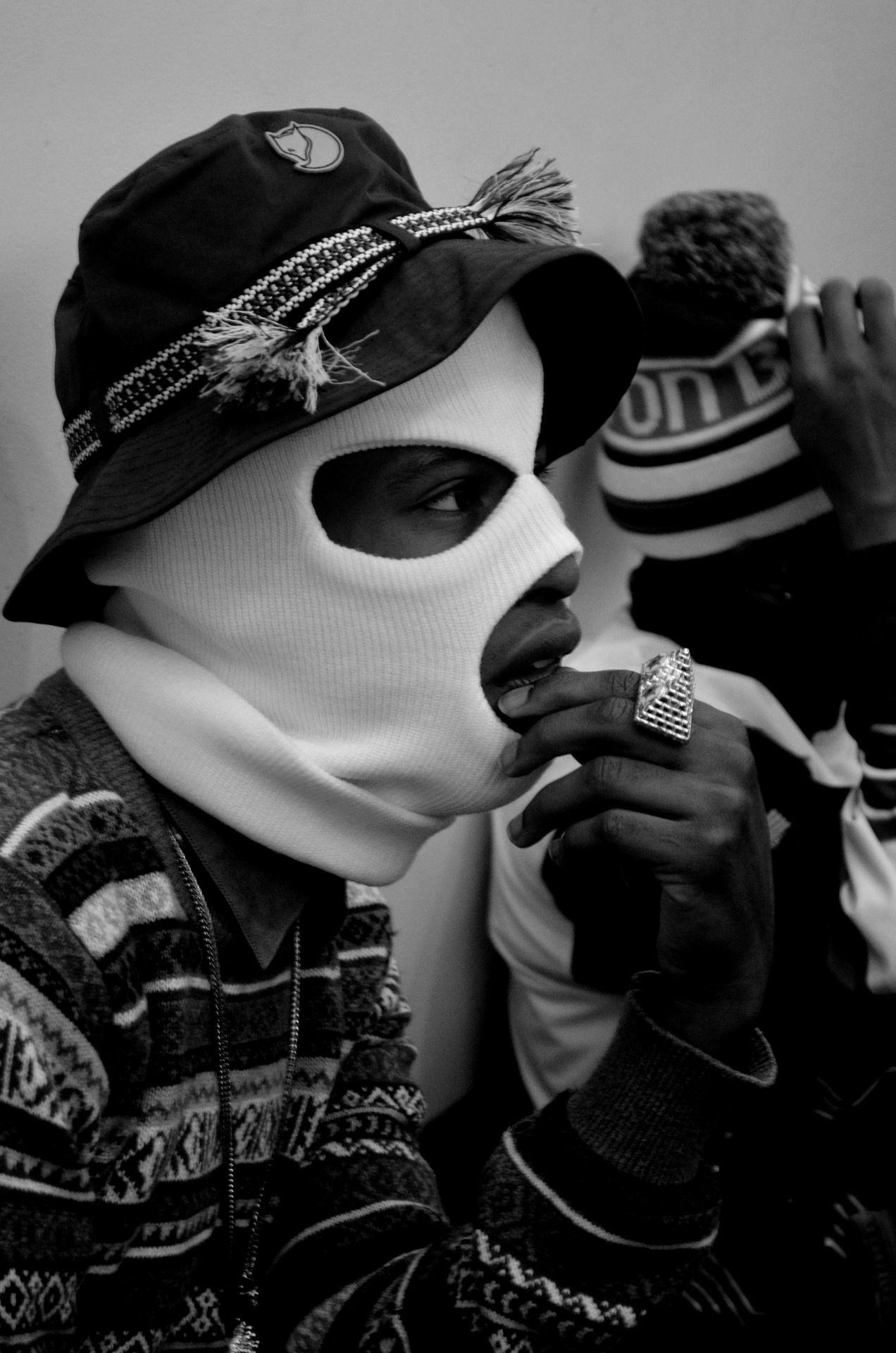 Lifestyle Blac White Gangsta Style Thug Style Hip Hop Art