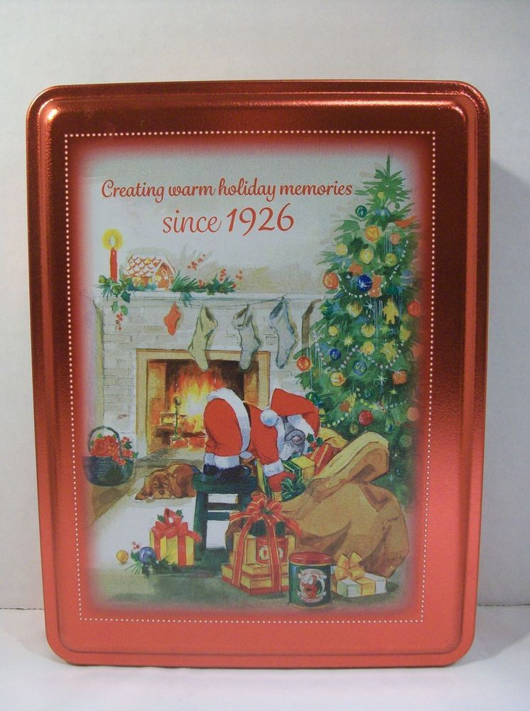 Details about swiss colony candy tin empty 90th