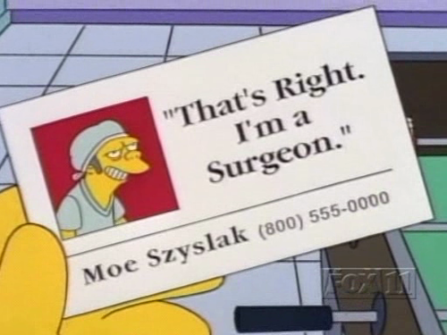 Funny cartoon business cards from the simpsons pinterest funny cartoon business cards from the simpsons colourmoves