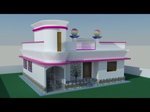 Bangladesh Village House Designs 4 Bedroom Youtube Village House Design Village Houses House Design Pictures