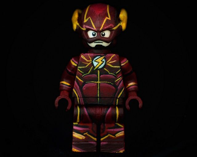 DC UNIVERSE SUPER HERO MARVEL MINIFIGURE THE FLASHBARRY ALLEN