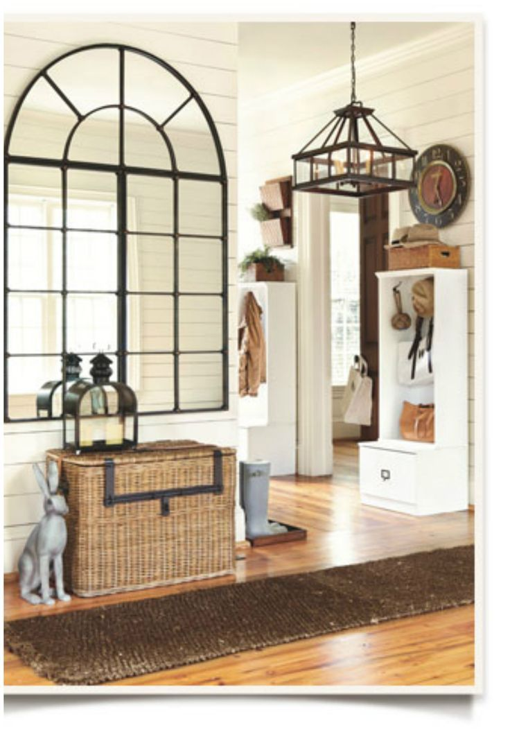 10 beautiful foyer decor ideas window pane mirror home on ideas for decorating entryway contemporary wall mirrors id=95857