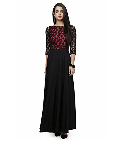 77aaa67bc Vasundhara Mart Women and Girls One Piece Gown with Attra...749 rupees