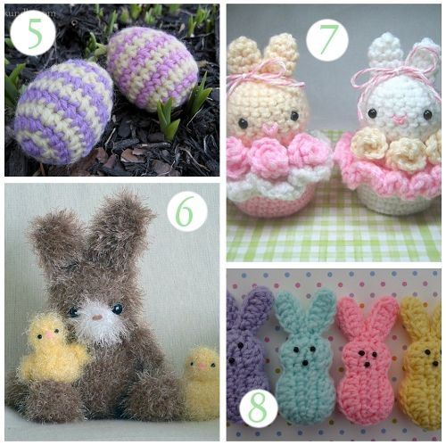 Crochet Easter Patterns Printable Free Easter Basket Patterns And