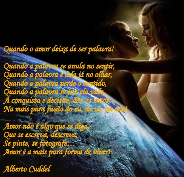 Palavras de Uma Vida - Alberto Cuddel: Card By Alberto Cuddel