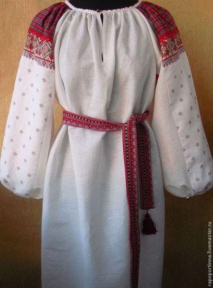 Русские рубахи с вышивкой женские