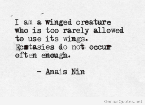 ANAIS NIN QUOTES image quotes at relatably.com | Words Of ...