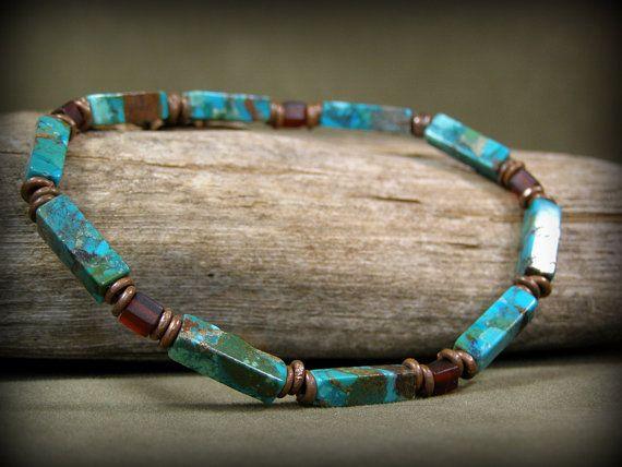 Turquoise Bracelet Mens Bracelet Bracelet for Men Mens Jewelry